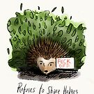 How the hedgehog got its name.  by twisteddoodles