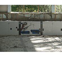 Chernobyl graffiti Photographic Print