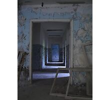 Pripyat secondary school, Chernobyl exclusion zone Photographic Print