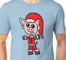 Santa Pig  Unisex T-Shirt
