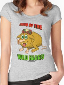 Friend of The Wild Haggis Women's Fitted Scoop T-Shirt