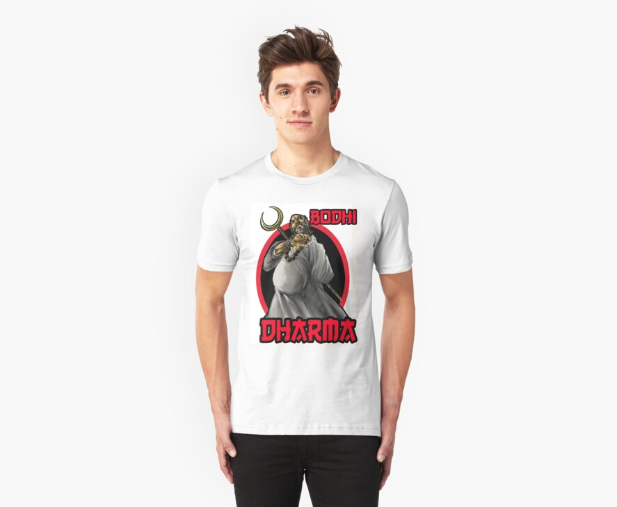 Bodhi Dharma t-shirt by japes74