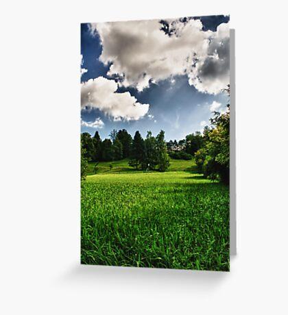 Green Envy  Greeting Card