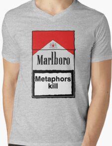 Metaphors Kill Mens V-Neck T-Shirt