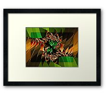Shady Deal Framed Print