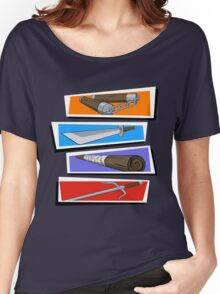 TURTLE POWER!! Women's Relaxed Fit T-Shirt