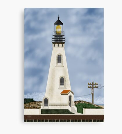 Piedras Blancas California Canvas Print