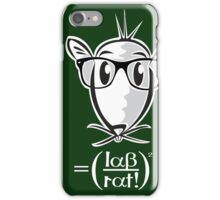 LAB RAT iPhone Case/Skin