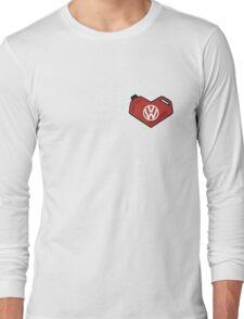 I Love My Volkswagen Long Sleeve T-Shirt