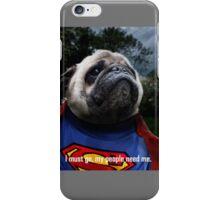 Super Pug iPhone Case/Skin