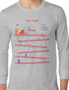 Arcade Kong Long Sleeve T-Shirt