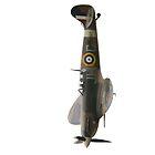 Spitfire BM597 JH-C by Nigel Bangert