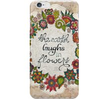 Natural Laughter iPhone Case/Skin