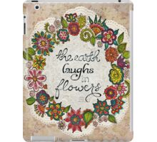 Natural Laughter iPad Case/Skin