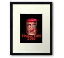 TRUMP CAN Framed Print