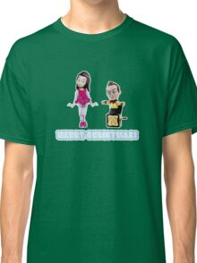 Stop Motion Christmas - Jeff/Annie (Style D) Classic T-Shirt
