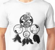 Gallifreyan Dream Catcher Unisex T-Shirt