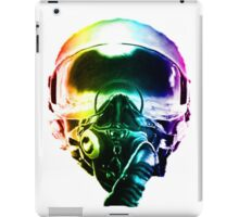 Colorful Fighter Pilot Helmet iPad Case/Skin