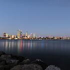 Sunset @ Mill Point, Perth by Sidqie Djunaedi