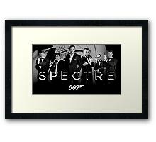 James Bond Mashup Framed Print