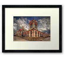 Loule's Market Framed Print