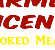 Farmer Vincent's Smoked Meats Sticker