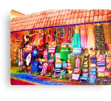Psychedelic Clothes Metal Print