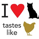 I Heart Cats by Bill Cournoyer