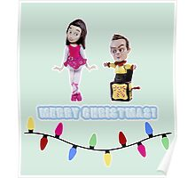 Stop Motion Christmas - Jeff/Annie (Style E) Poster