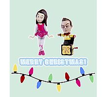 Stop Motion Christmas - Jeff/Annie (Style E) Photographic Print