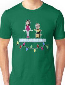 Stop Motion Christmas - Jeff/Annie (Style E) Unisex T-Shirt
