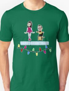 Stop Motion Christmas - Jeff/Annie (Style E) T-Shirt