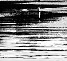 Barque en lignes by Jean-Luc Rollier