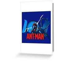 Funny Antman Greeting Card