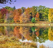 Parker Dam State Park Lake by Penny Rinker