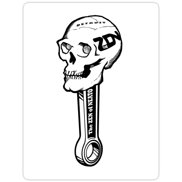 ZON Skull  by brichar9