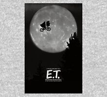 E.T. Movie Poster T-Shirt Women's Fitted Scoop T-Shirt