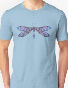 dragonfly in dark shades Unisex T-Shirt