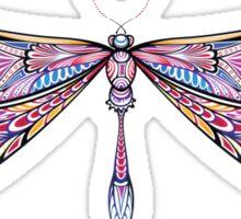 dragonfly in dark shades Sticker