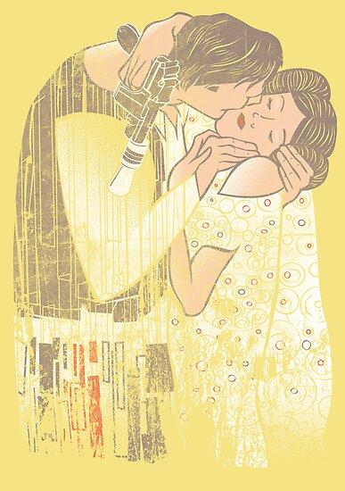 The Kiss by AJ Paglia
