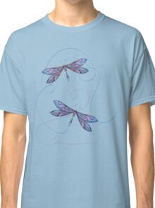 flying dragonflies Classic T-Shirt