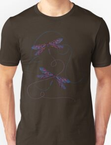 flying dragonflies Unisex T-Shirt