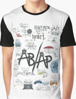 Fall Out Boy Lyric Art Graphic T-Shirt