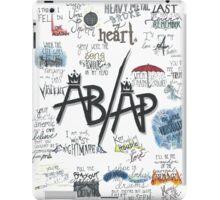Fall Out Boy Lyric Art iPad Case/Skin
