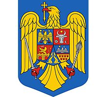 Coat of Arms of Romania Photographic Print