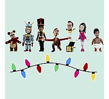 Stop Motion Christmas - Style E Photographic Print