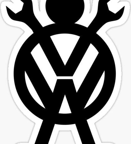 VW Mechanic Sticker