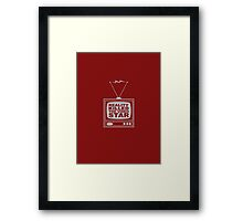 Reality Killed the Video Star Framed Print