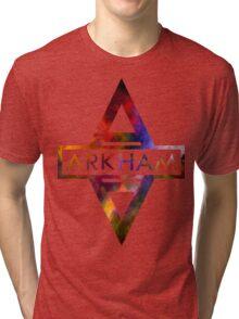 Batman Arkham Splash Color Tri-blend T-Shirt