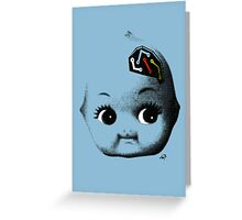 Circuitry Baby Greeting Card